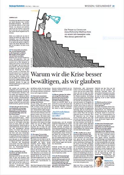 Salzburger Nachrichten: Warum wir die Krise besser bewältigen