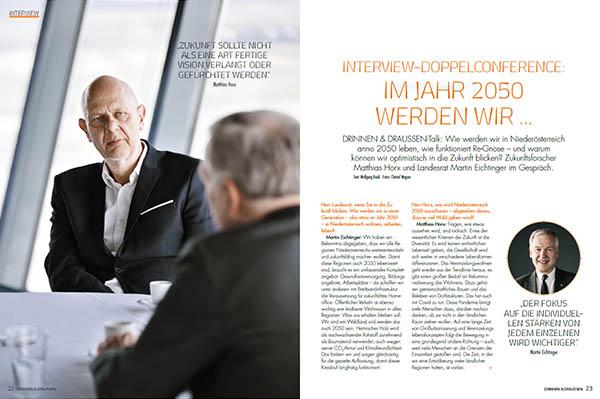 Drinnen & Draussen: Interview Doppelconference